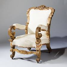 Throne Chair Italian Early 19th Century Throne Chair Nicholas Antiques