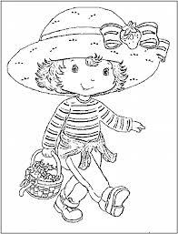 strawberry shortcake coloring pages pixelpictart com