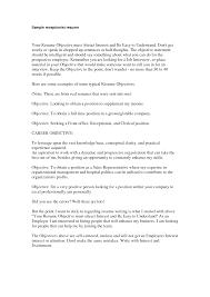 sample receptionist resume skills medical receptionist resume