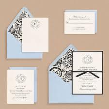 monogram wedding invitations flourish monogram wedding invitations invitation crush