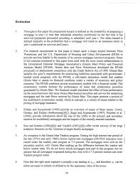 Sample Letter Explicit Mortgage Letter Of Explanation Sample by An Analysis Of Prepayment U0026 Claim Rates For Fha Insured Multifamily M U2026