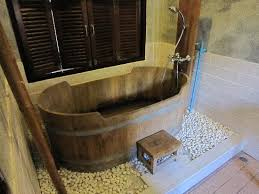 wooden bathtub wooden bathtub picture of sunset cove resort ko pha ngan