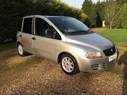 fiat multipla wallpaper 2005 fiat multipla 1 9 jtd mot 11 16 recent oil service a c twin