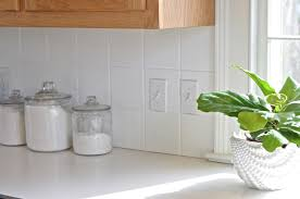 Backsplash Tile Paint by How To Paint Kitchen Backsplash Tile At Charlotte U0027s House