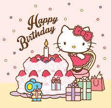 sanrio hello kitty happy birthday pinterest sanrio hello