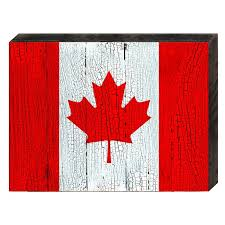amonogramartunlimited flag of canada rustic wooden wall decor