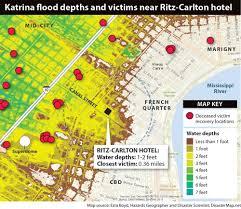 French Quarter Map Brian Williams U0027 Mixed Hurricane Katrina Memories May Be Tricks Of