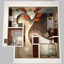 apartments one bedroom home plans one bedroom house plans under