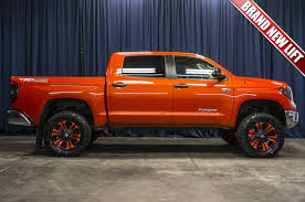 toyota tundra lifted used lifted 2017 toyota tundra trd 4x4 truck for sale 40005
