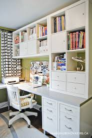 Organized Office Desk 19 Smart Storage Solutions For Your Home Office Office Desks