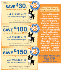 lighting the web coupon electrical installation center city generation 3 electric coupons