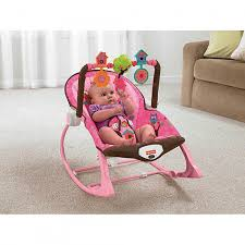 Infant Rocking Chair Fisher Price Infant To Toddler Rocker Sleeper Pink Owls Shoptv