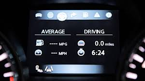 nissan altima mpg 2016 2013 nissan altima sedan vehicle information display youtube