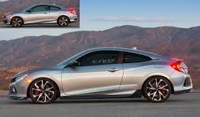 new 2017 civic si coupe render 2016 honda civic forum 10th gen
