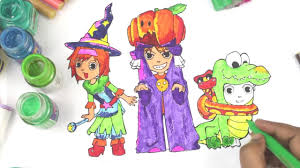 halloween coloring pages kids halloween costumes coloring