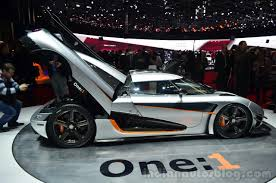 koenigsegg piston koenigsegg one 1 unveiled in geneva