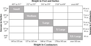 how to read dimensions size charts capezio