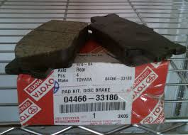 lexus es300 back toy lex stores nig ltd 04466 33200 rear brake pad for camry