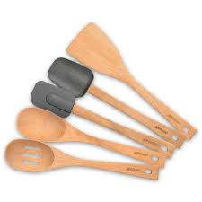 5 piece beechwood tools set