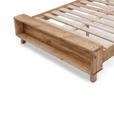 King Wooden Bed Frame Portland Rustic Recycled Timber Bed Frame Buy Bed Frame