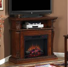 corner electric fireplace tv stand oak home interior design simple