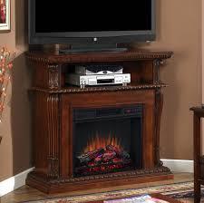 Oak Corner Fireplace by Corner Electric Fireplace Tv Stand Oak Bjhryz Com