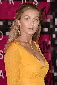 gigi hadid hairstyles gigi hadid beautiful blonde hairstyles in yellow colors clothing