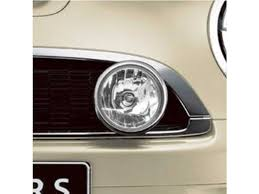 mini cooper driving rally lights halogen chrome r5