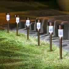 Landscape Lighting Stakes Metal Landscape Lighting Stakes Solar Light Replacement Stakes