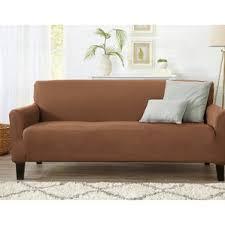 T Cushion Sofa Slipcover by One Piece Sofa Slipcovers You U0027ll Love Wayfair