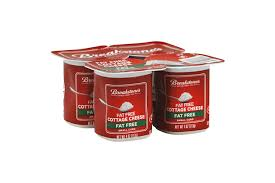 Cottage Cheese Singles by Breakstone U0027s Small Curd Fat Free Cottage Cheese 4 4 Oz Cups