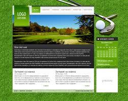golf club site template by pnikolov on deviantart
