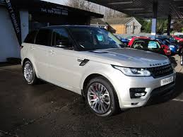 used land rover for sale used 2014 land rover range rover sport sdv6 autobiography dynamic