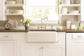 beadboard backsplash in kitchen beadboard backsplash cottage kitchen bhg antique country kitchen