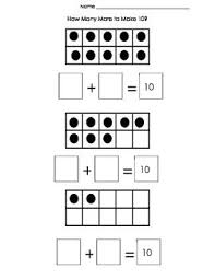 314 best ten frames images on pinterest ten frames kindergarten