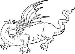 red dragon coloring free printable coloring pages