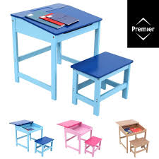 study desk and chair set drawing homework table stool for