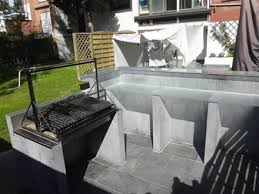 construction cuisine d t ext rieure construire sa cuisine d ete 10 4 grille barbecue pour lzzy co