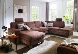 canape nubuck canapé en u nubuck altara marron sb meubles discount