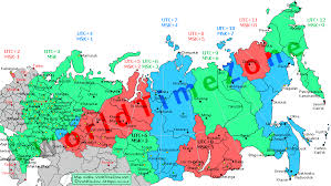 utc zone map russia zones map and zones of the map after