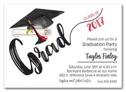graduation invitations high school college graduation
