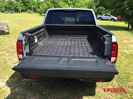 bed of truck 2017 honda ridgeline truck bed audio system explained video