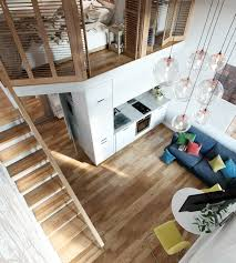 Home Design Flooring Small Homes That Use Lofts To Gain More Floor Space