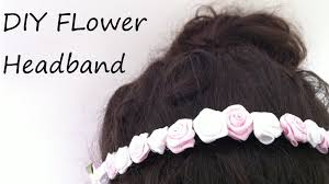 flower headbands diy diy flower headband tutorial