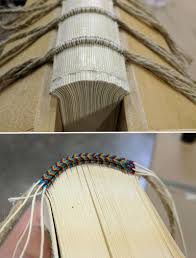 book headband my handbound books bookbinding wooden board binding 13th