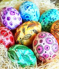 easter eggs decorated pictures paint your easter eggs with watercolor for better results