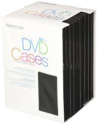 Dvd Storage by Amazon Com Memorex Standard Dvd Cases 10 Pack Home Audio U0026 Theater