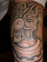 aztec warrior tattoo design for men tattooshunter com