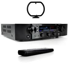 home theater system receiver pyle pt395 bluetooth hybrid pre amplifier home theater stereo