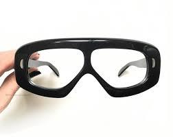 60 s thick aviator shield mask goggle eyeglasses eyeglass cool